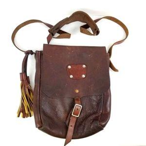 Goertzen Vintage Genuine Leather Crossbody  bag